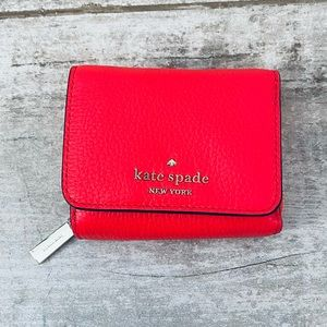 Spade GERANIUM small trifold continental wallet